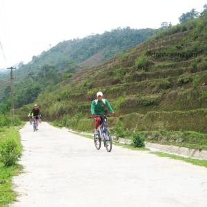 cycling cao bang vietnam