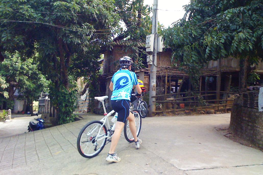 cycling mai chau