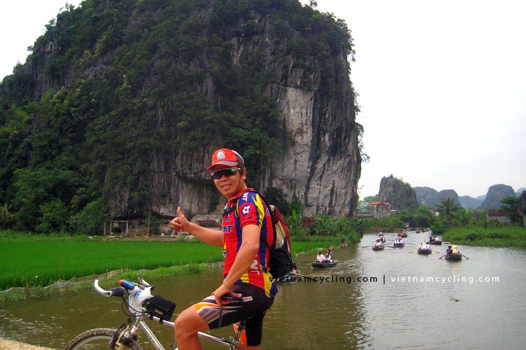 cycling tam coc, ninh binh