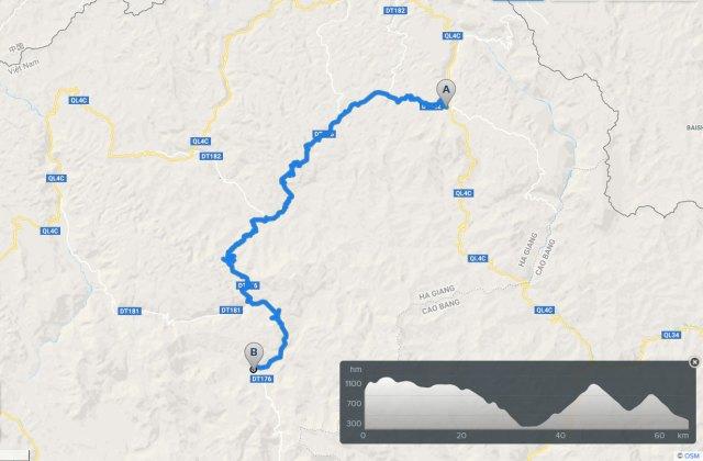 ha giang cycling route: meo vac du gia