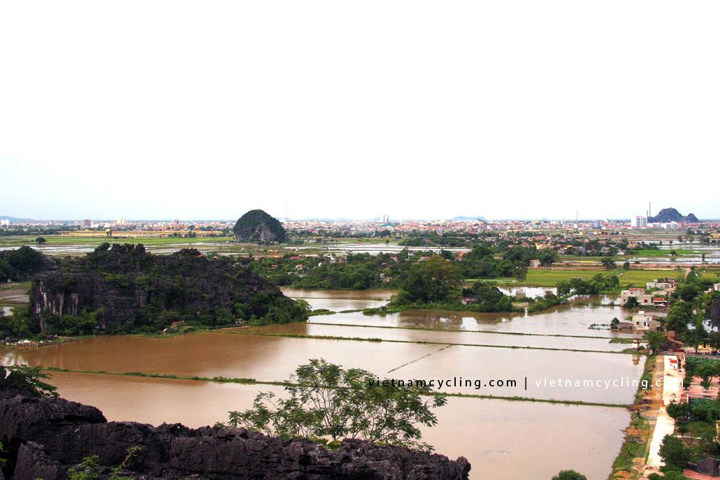 view from Hang Mua cave ninh binh