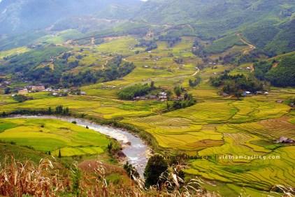 muong hoa valley sapa vietnam