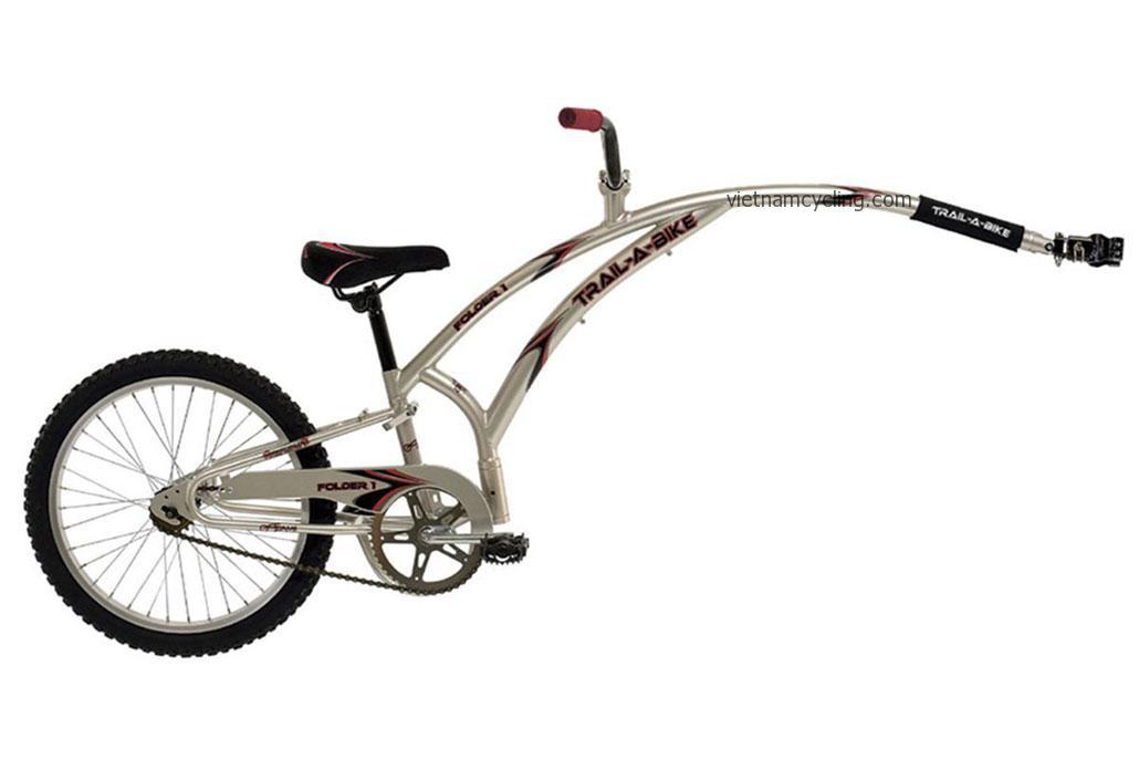tag-along bike for kid, hanoi