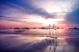 Ảnh buổi sáng ở biển Phan Thiết 4