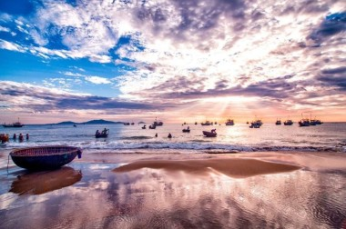 Ảnh buổi sáng ở biển Phan Thiết 7