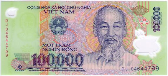 La valuta locale  In Vietnam con me