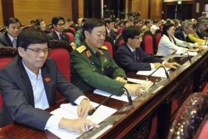 Đại biểu quốc hội ấn nút biểu quyết vào ngày 28 tháng 11-2013. CREDIT: REUTERS/STRINGER
