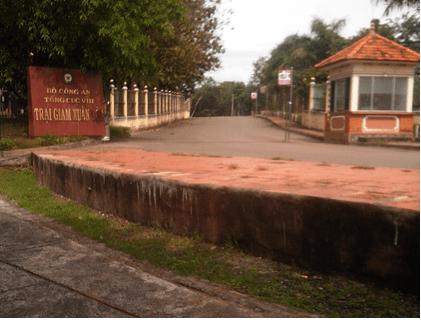 Khu trung tâm chính của trại Z30A Xuân lộc, Đồng Nai.