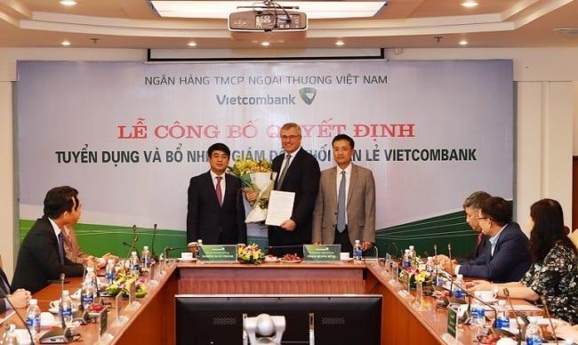 Vietcombank appoints former HSBC Vietnam CEO as retail head
