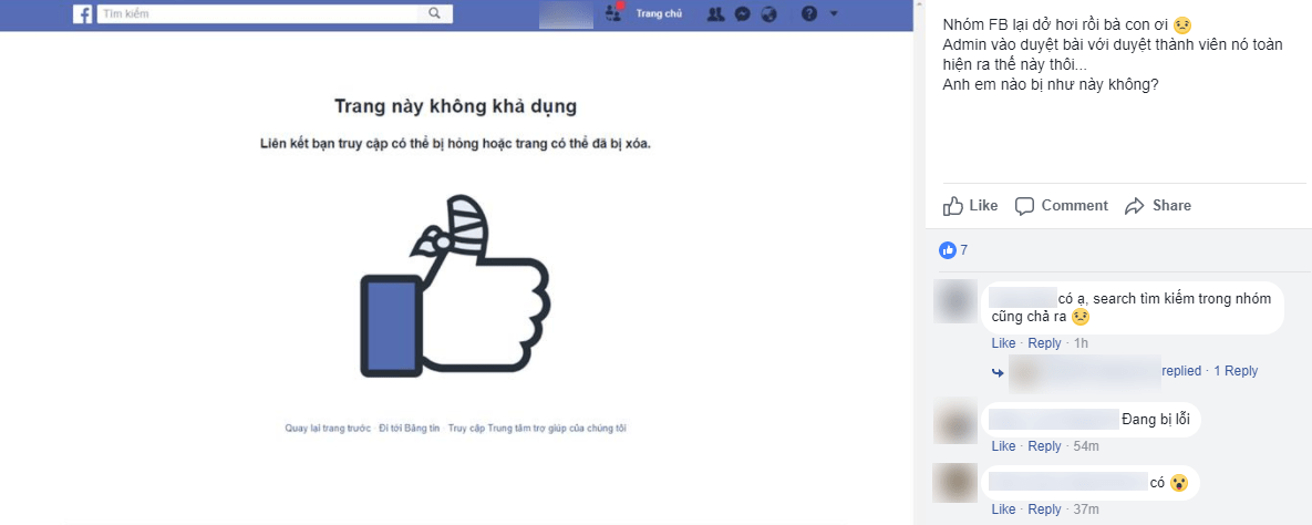 Vietnamese users troubled by unusual Google, Facebook outage