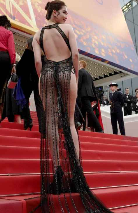 Vietnamese Model Bashed For Wearing Revealing Gown In Cannes - Vietnam Insider-1925