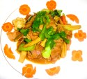 Pork with vegetable