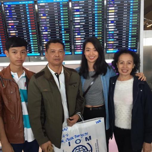 VOICE Thailand Một gia đình tị nạn được đi tái định cư Mỹ