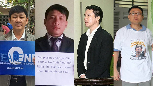 VIET NAM FOUR PEACEFUL ACTIVISTS ARBITRARILY ARRESTED IN CONNECTION WITH LONG-DETAINED HUMAN RIGHTS LAWYER