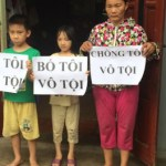 nguyen-thi-lanh-and-kids - Vietnam Free Expression Newsletter No. 37-2017 – Week of November 6-12