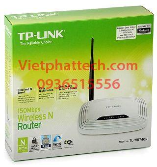 Bộ phát wifi TPLInk 740N, chuẩn N tốc độ 150mbps 3