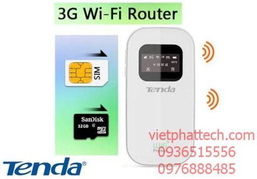 Bộ phát wifi bằng sim 3G tốc độ cao TENDA 3G185 4