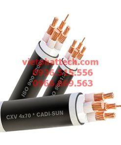 Dây cáp điện treo CXV 4x