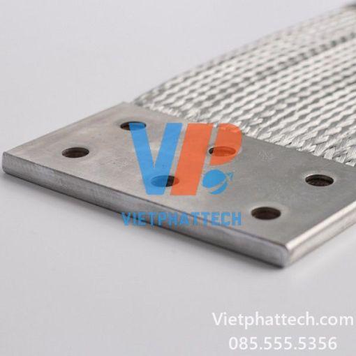 Thanh nối đồng mềm 400x200x10mm cho máy biến áp 3