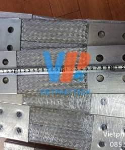 Thanh nối đồng bện 350x100x10mm cho máy bến áp 23