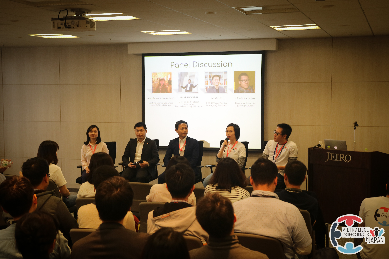 """Ngày 14/4/2018, tại Tokyo, Nhật Bản, Diễn đàn Chia sẻ về phát triển sự nghiệp cho người Việt Nam tại Nhật Bản – """"Career sharing"""" lần 3 đã được tổ chức thành công tốt đẹp"""