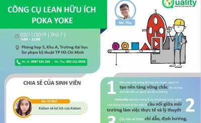 Chủ đề 15: Công cụ LEAN hữu ích POKA YOKE 02-11-2019