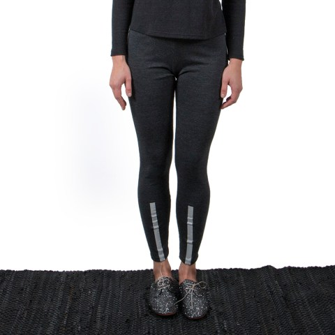 Vietto merino wool leggings grey