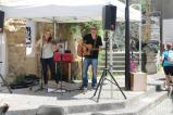 La journée s'est ouverte avec Doria et Bast, un duo rock très inspiré