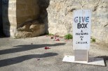 Give Box Illustration Tournage France 5 -® Photo F. Stromme 2015 Comite Quartier du Vieux Conflans 0009