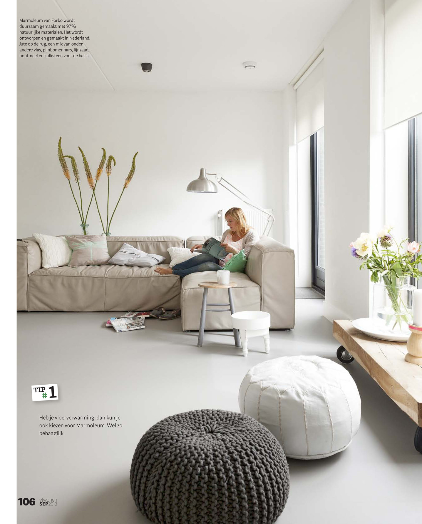 Forbo Flooring NL  VT wonen Woonwens 2013  Pagina 23