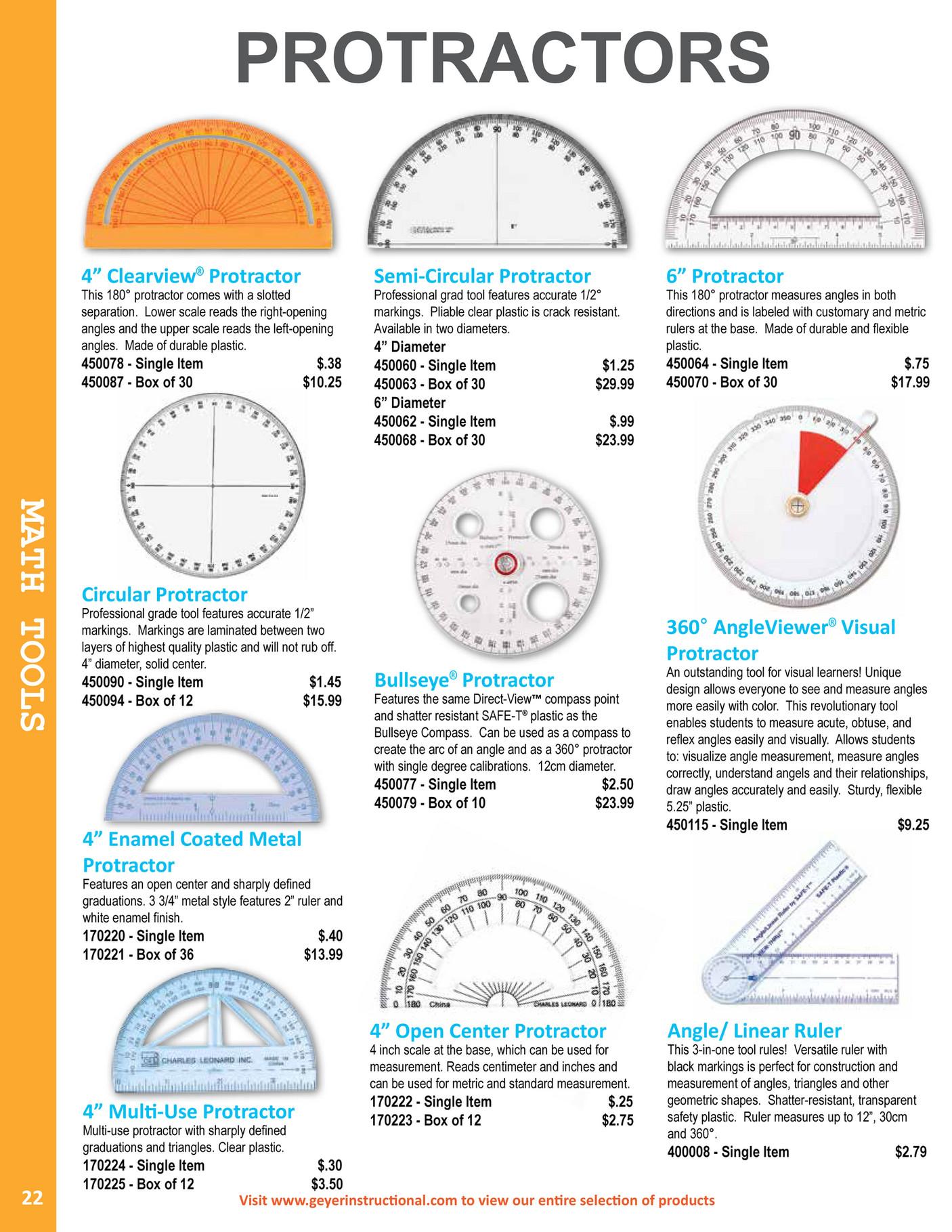 Tool To Measure Angles