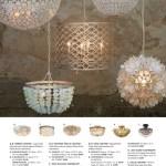 Pottery Barn Summer Bed Bath D4 Amadeo Crystal Pendant