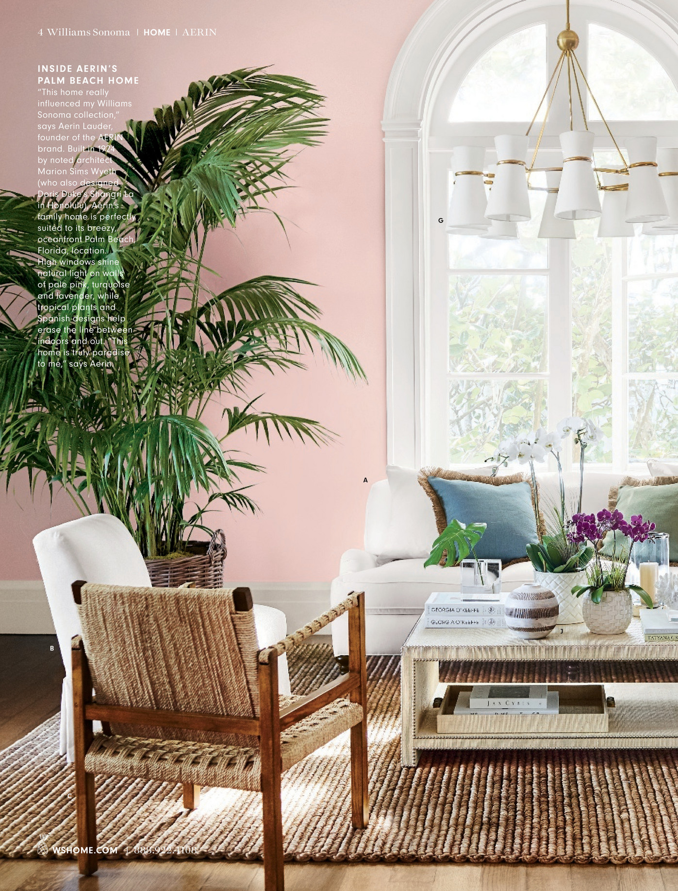 william sonoma chair covers gym with twister seat williams home the aerin collection 2017 page 4 5