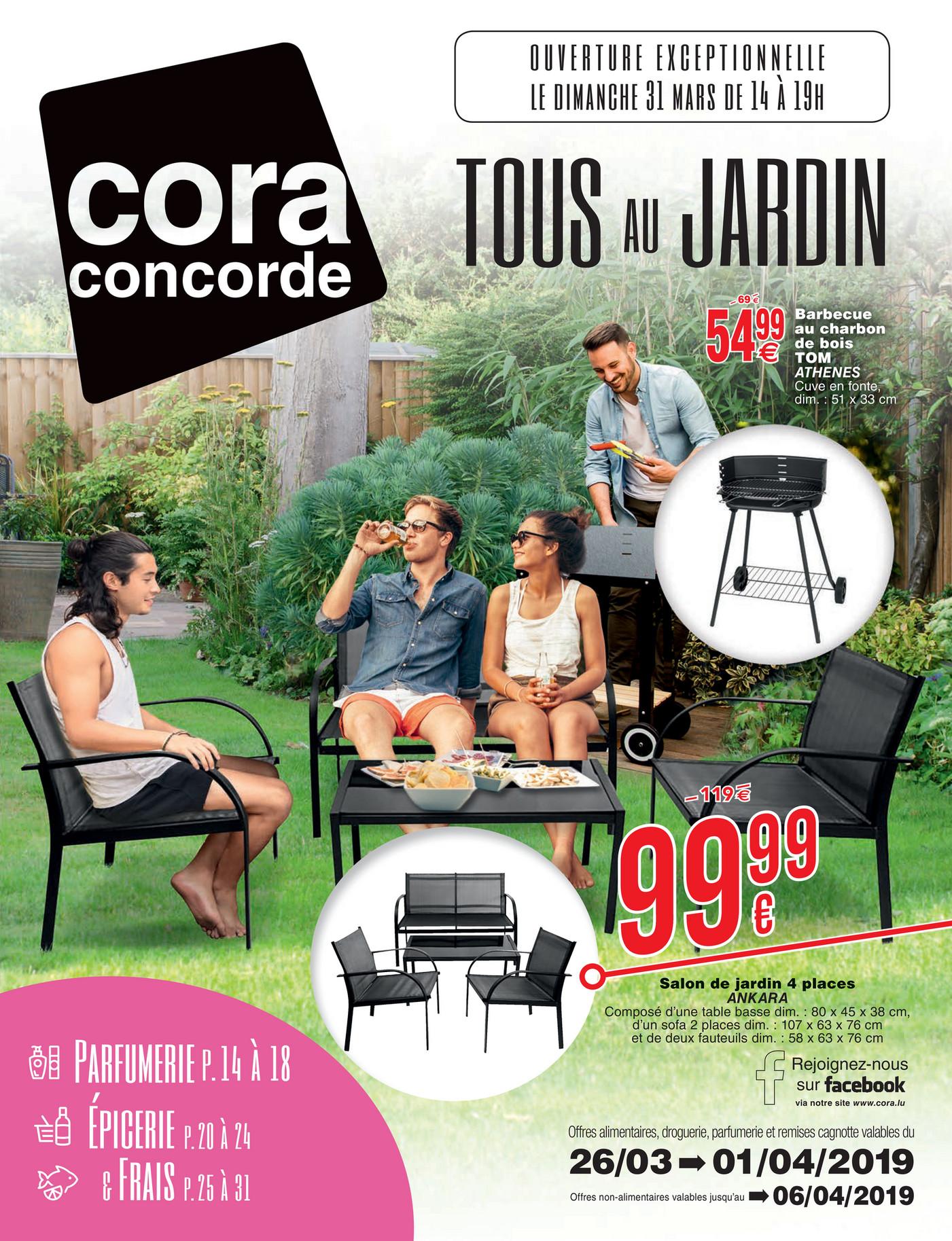 Salon De Jardin Cora