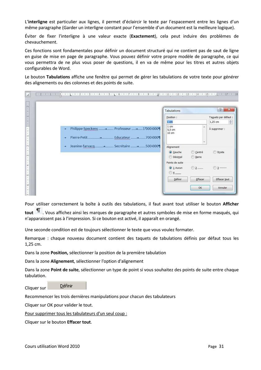 Interligne 1,5 Word : interligne, Publications, Microsoft, 30-31, Created, Publitas.com