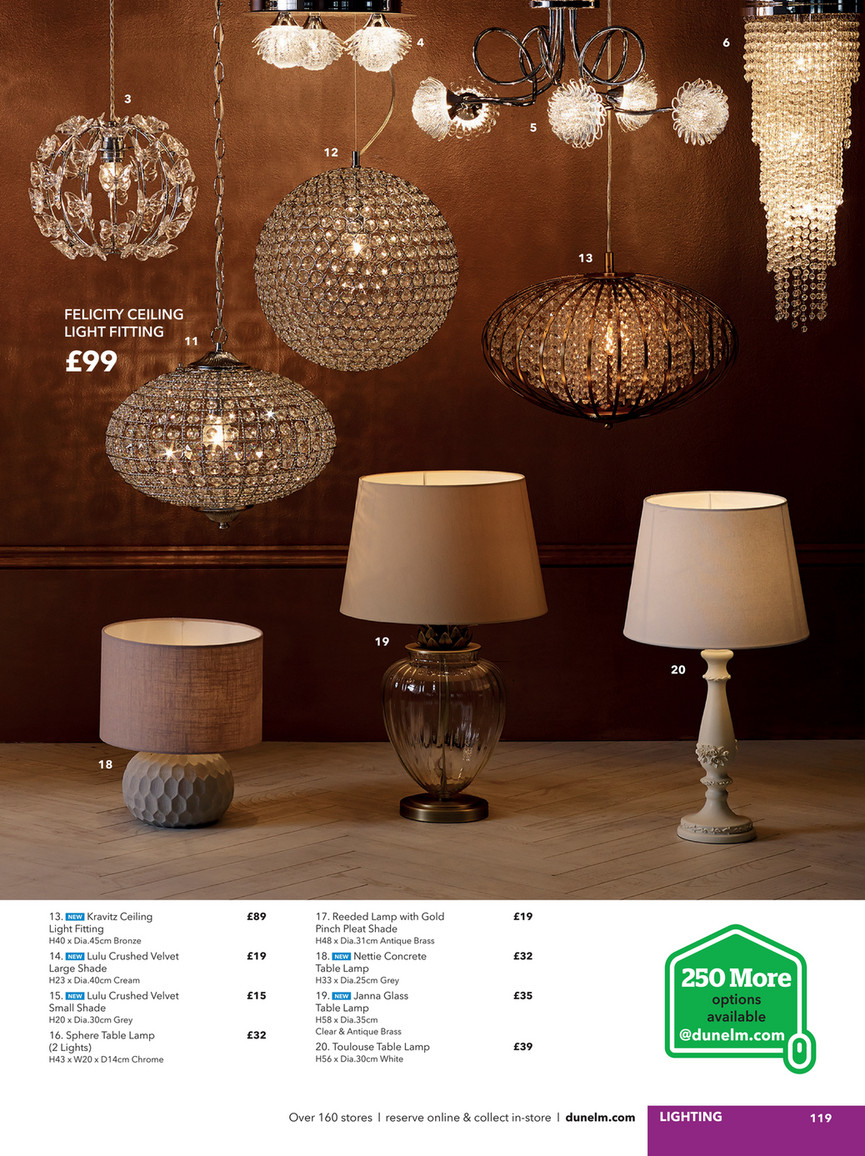 Dunelm Spring Summer 2017 Catalogue Page 118 119