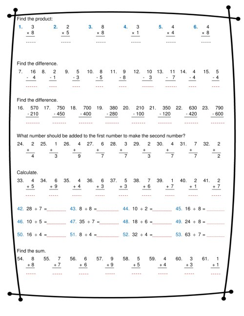 small resolution of ninalazina - addition subtraction multiplication division worksheets pdf  Upload V2 - Page 1 - Created with Publitas.com