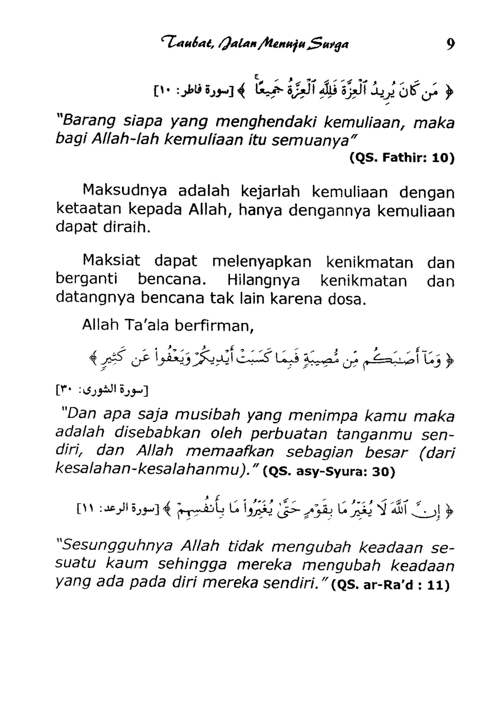 Arti Nama Fathir Dalam Islam : fathir, dalam, islam, Publications, Repentance, Heaven, Indonesian), Created, Publitas.com