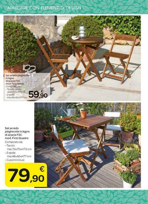 Tavoli E Sedie Da Giardino Auchan.Ri5ba4125 Offerte Mobili Giardino Auchan Fiorichiariplates