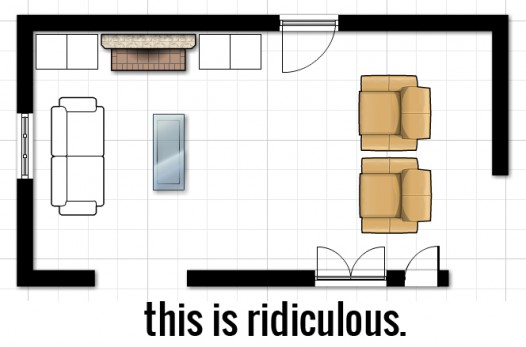 Decorating 101: Space Planning (and More On Jill's