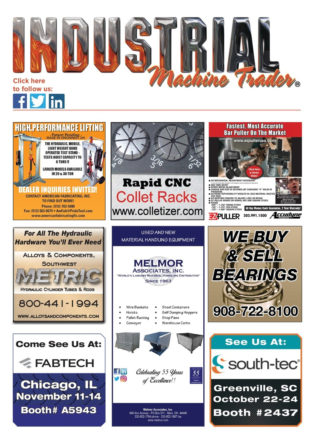 Liquidation World Flyer Industrial Machine Trader
