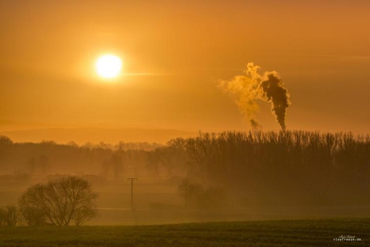 Sun, Steam & Fog
