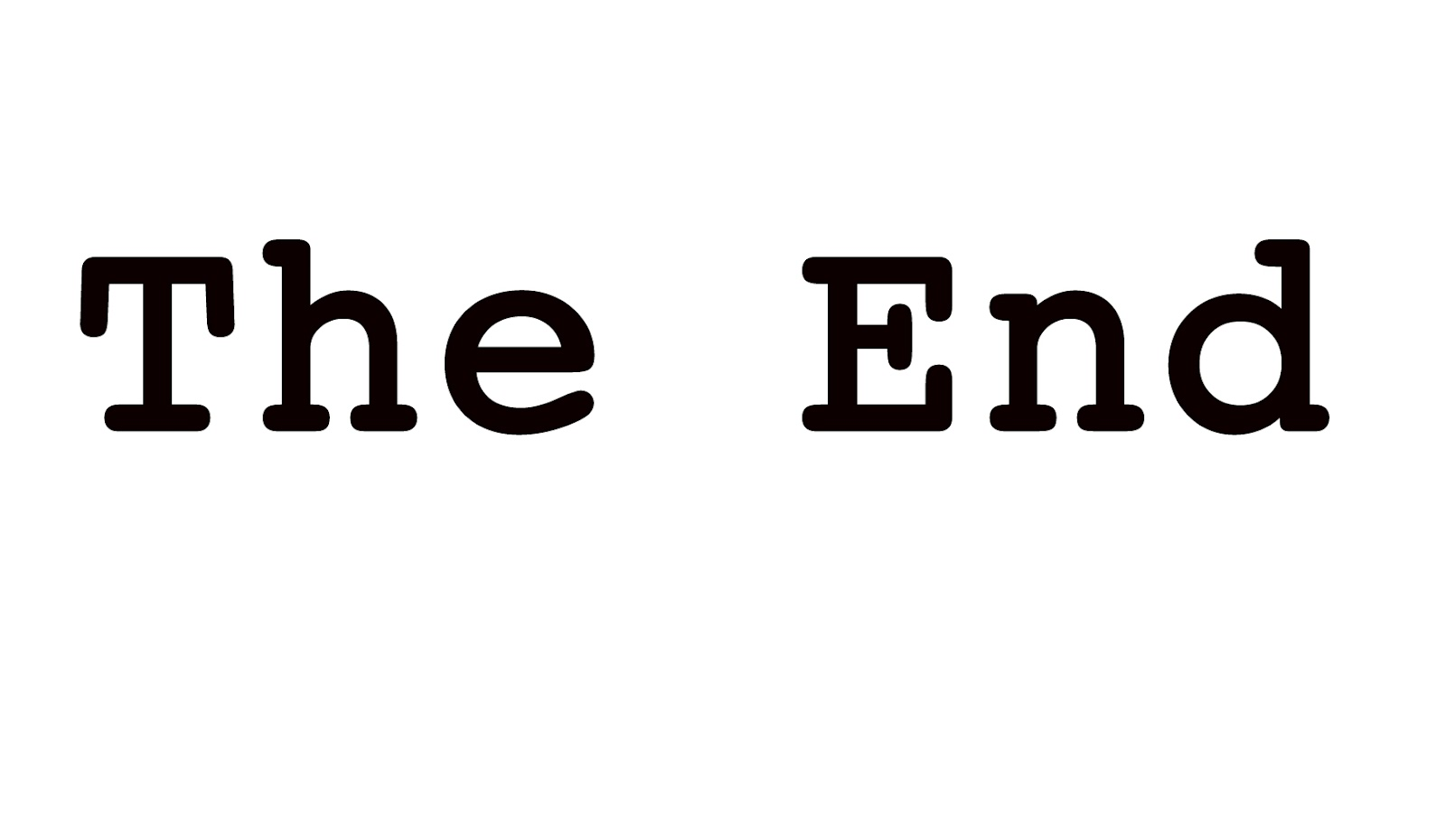 The End Is Nigh On Nearly Completing A Novel View