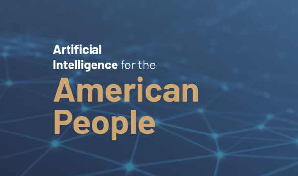 AI white house site page
