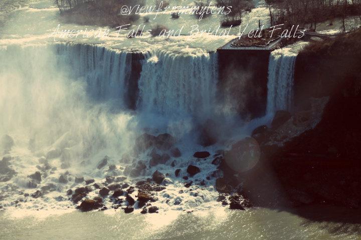 American Falls and Bridal Veil Falls #125