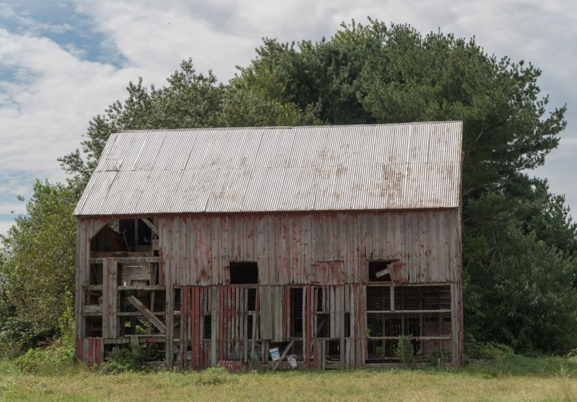 Photo by SG Atkinson: Old Barn in Middletown