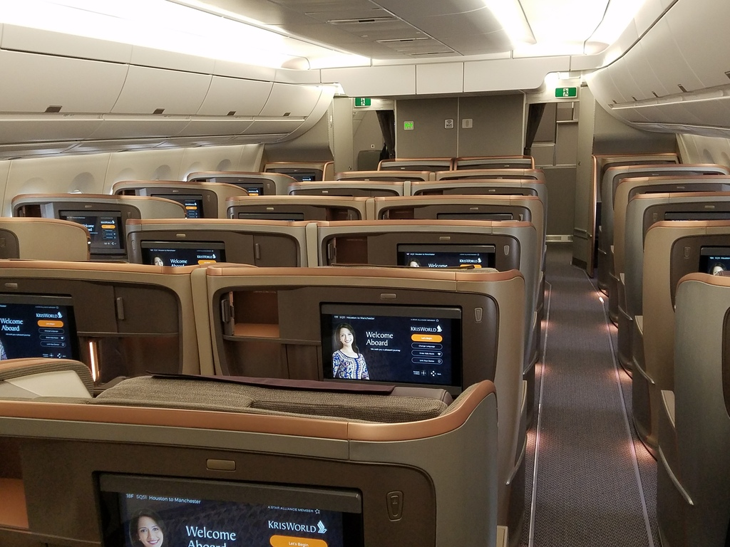 Inside The Singapore Airlines Airbus A350 That Just