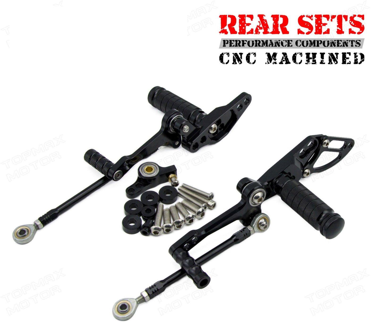 Cnc Adjustable Rearsets Foot Pegs Rearsets Ducati