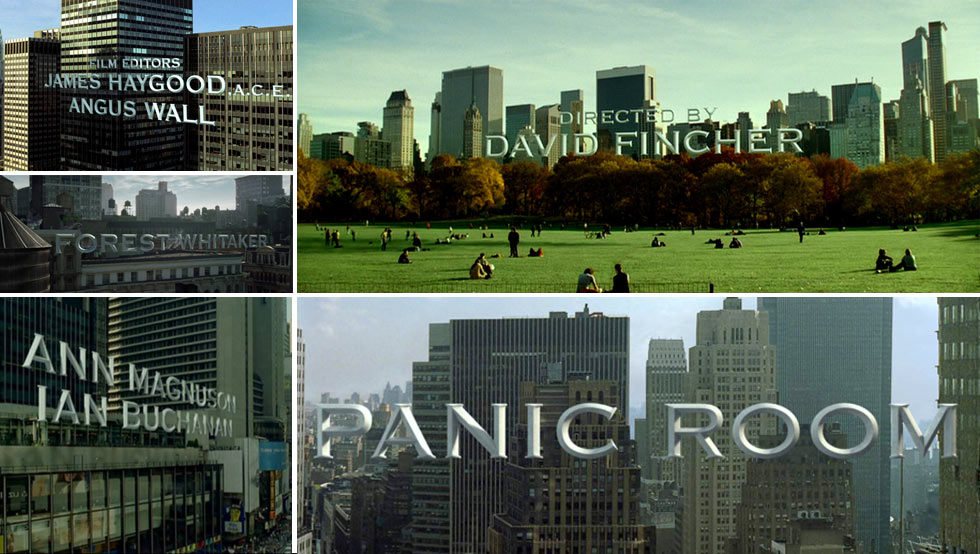 Panic Room | Title Sequence by Kevin Tod Haug