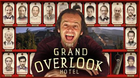 The Shining X The Grand Budapest Hotel (via wallpapercave)